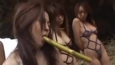 Asian Lezzy Sadism & Masochism And Kink Activity Outdoors