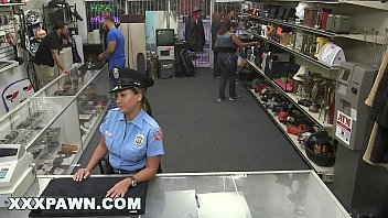 Hard-core Pawn  Perverted Pawn Shop Holder Ravages Brazilian Police Officer