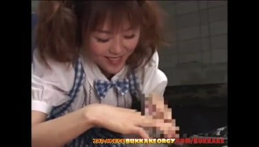 Japanese Teenager Is Addicted To Jism  Asian Mass Ejaculation Orgy