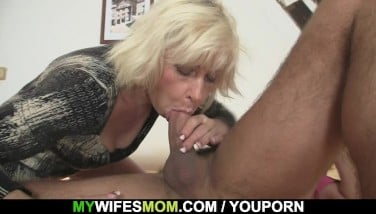 I Just Jizz On My Mom In Law