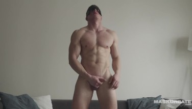 Maskurbate Gay-for-pay Muscle Hairy Man Milks Thinking Of You