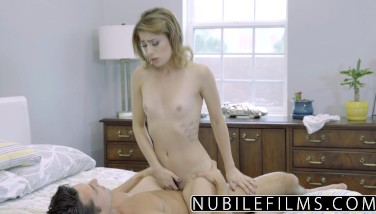 Nubilefilms  Day Dreaming About Spear Till She Cums