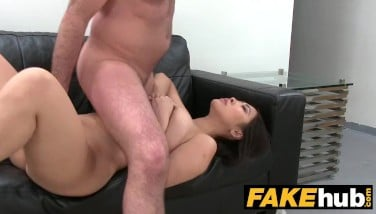 Fake Agent Enormous Titties Chinese Wants Firm Pummel On The Audition Couch