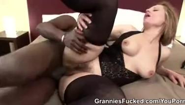 Granny Magda Gets Blacked