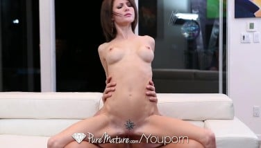 Hd Puremature  Steamy Honey Jenni Lee Lee Romps On The Couch