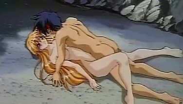 Lovely Anime Porn Platinum-blonde Awards Her Savior