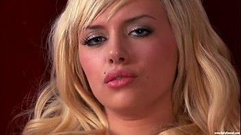 Eporner.com  102999 Blondie In Pantyhose And Blue Undergarments Caresses Her Sleek Vag 720
