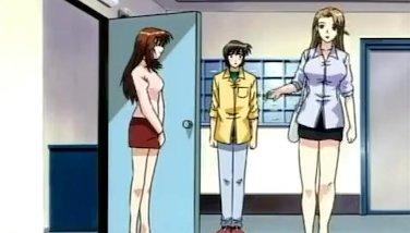 Anime Man Sausage Brings Sizzling Big-boobed Gal To Rapture