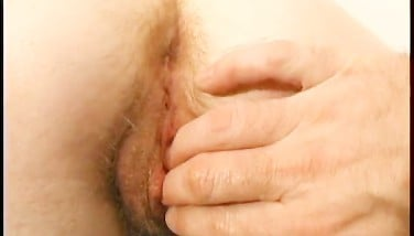 Wendy Gets Her Unshaved Slot Penetrated With 2 Fingers