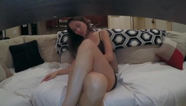 Upskirt Gams Uncrossing Seethrough Undies And Nude Vulva Peeks