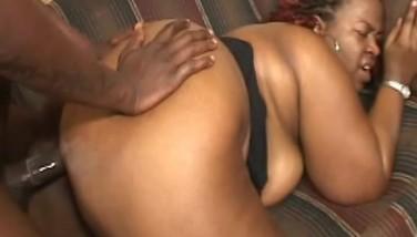 Fat Butt Mature Black Nymph Pummeled By A Ebony Stud