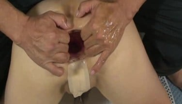 Fisting The Wifes Donk And Extraordinary Rectal Pumping