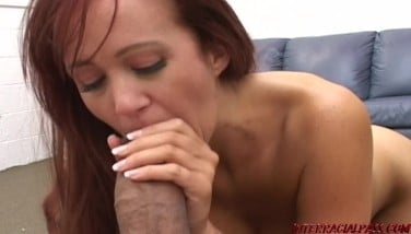 Busty Mother Gets Her Very First Giant Dark-hued Cock