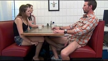 Footjob Under The Table Videos Porn Videos Letmejerk Com